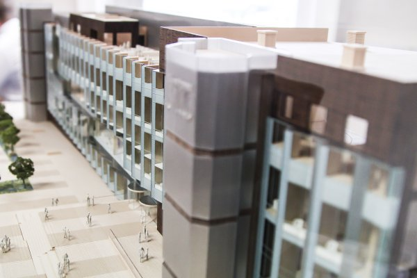 学生作品建筑模型2