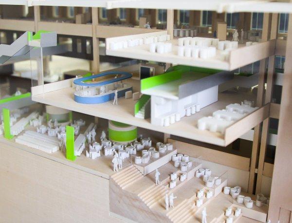学生作品建筑模型