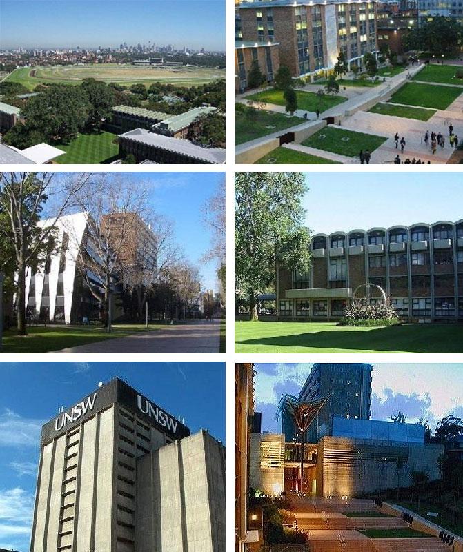 工程专业牛校——新南威尔士大学综合排名