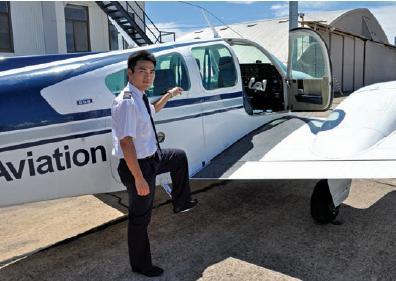 南澳大学民用航空专业 冲上云霄心飞翔