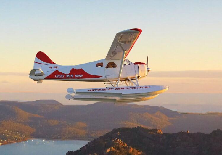 塔斯马尼亚大学别出心裁迎新礼:水上飞机之旅