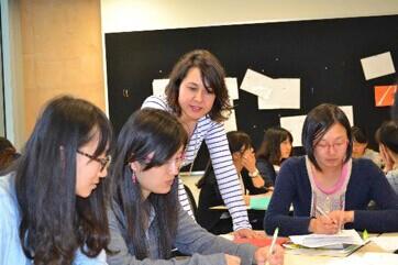 昆大继续教育与TESOL教育学院支持与中国建立联系