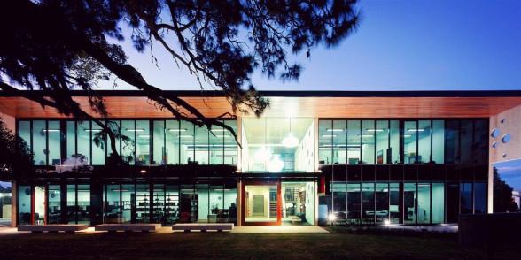 昆士兰大学校内风景