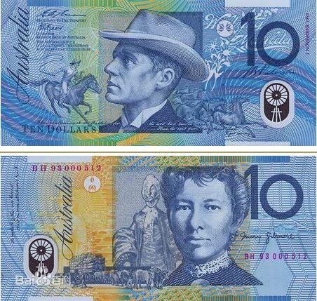 澳洲留学扫盲 澳元上的人物都是谁?