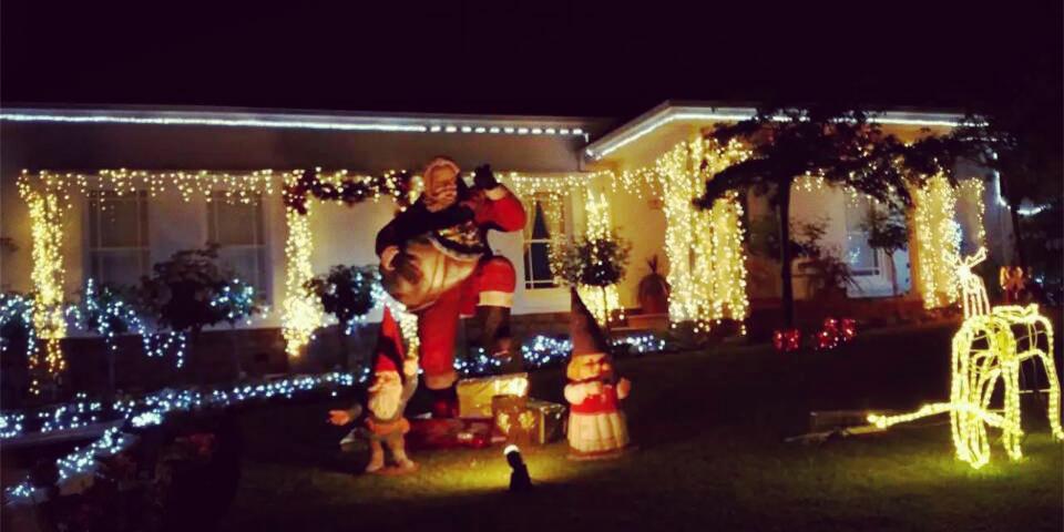 实拍墨尔本圣诞节