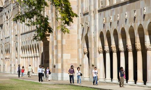昆士兰大学世界排名