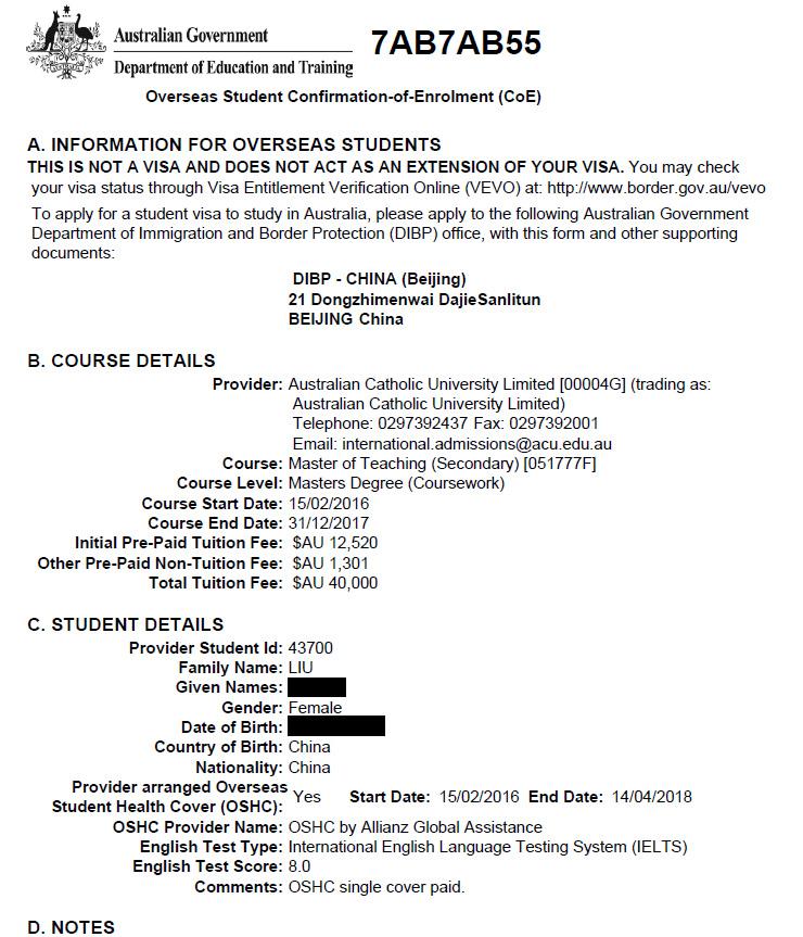 雅思8分大神的澳洲留学申请过程自述