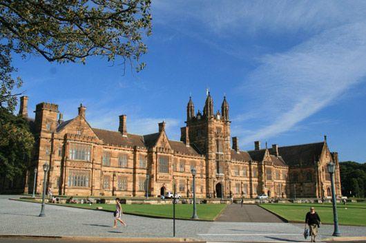 悉尼大学世界排名,最好的大学为最努力的你而生