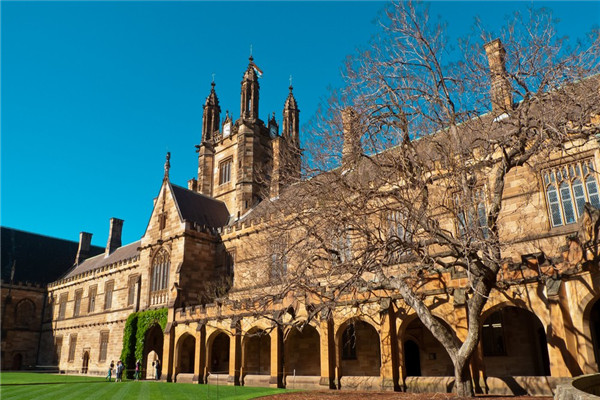 澳洲悉尼大学排名,你是悉尼大学的粉丝么