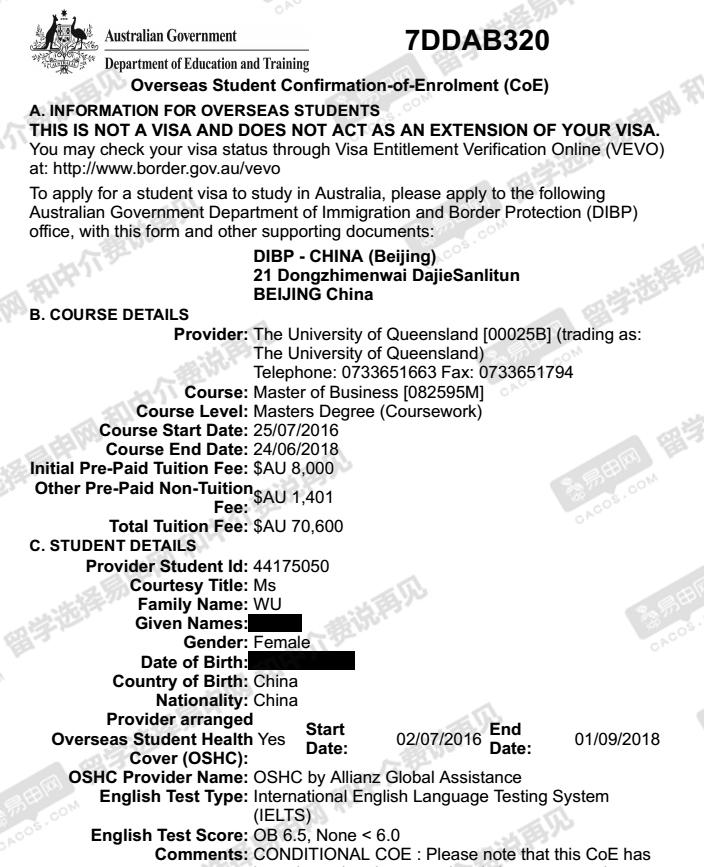 澳洲留学生,澳洲留学申请