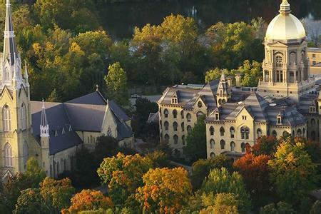 2017圣母大学一年学费要多少