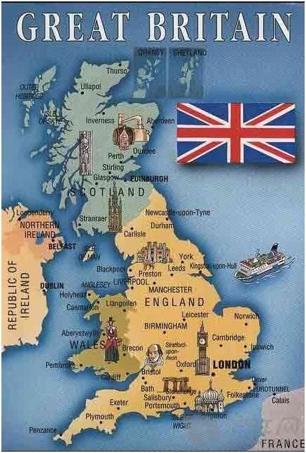 英国大学分布图一览 名校地理位置解析