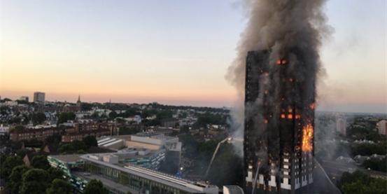 伦敦公寓大火 留学生万一遇到火灾该自救?