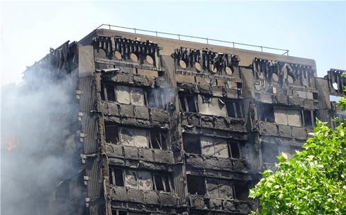 伦敦大火,伦敦公寓着火,伦敦留学