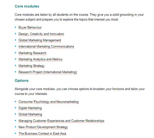 巴斯大学,市场营销专业,英国留学