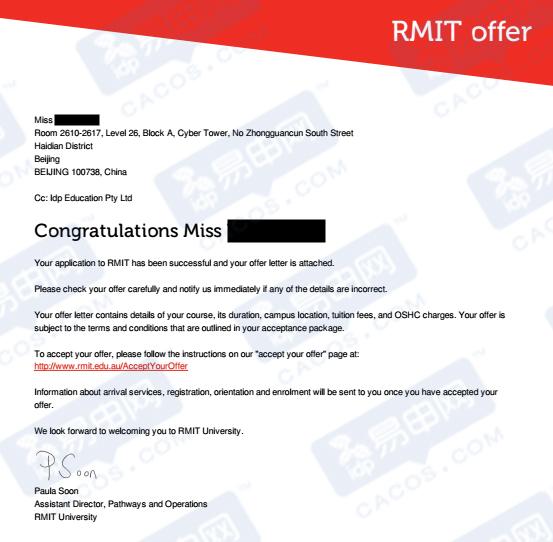 墨尔本大学,RMIT,澳洲留学申请