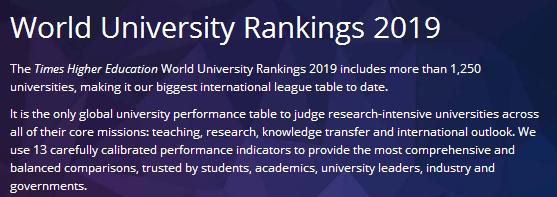 2019times澳洲大学排名已出!大黑马竟然是它?