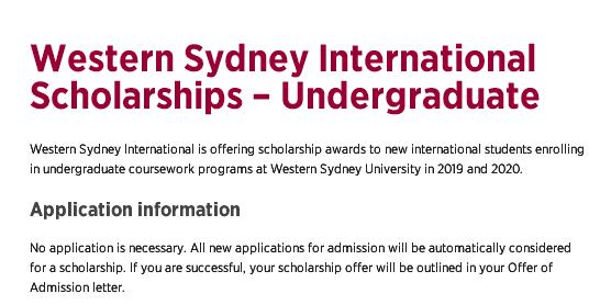 西悉尼大学10000澳币奖学金,手慢无;超豪华的墨尔本大学线下行前指导会来袭!留学快讯了解一下?