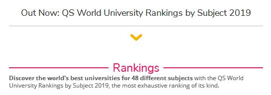 """2019QS世界大学学科排名突然发布!澳洲高校来了次""""大洗牌""""?!"""