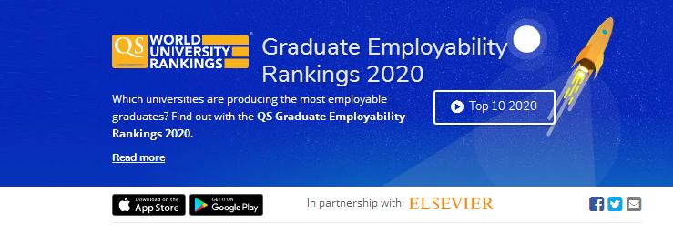 QS2020就业力排名公布!英国各个大学表现如何?