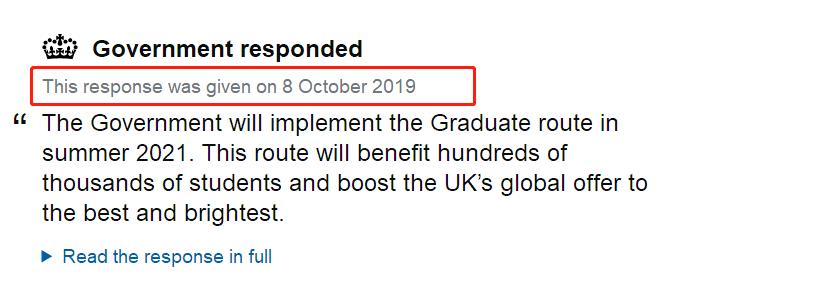 【扩散】PSW工签确认将于2021年回归,但今年留学英国的我们该何去何从?