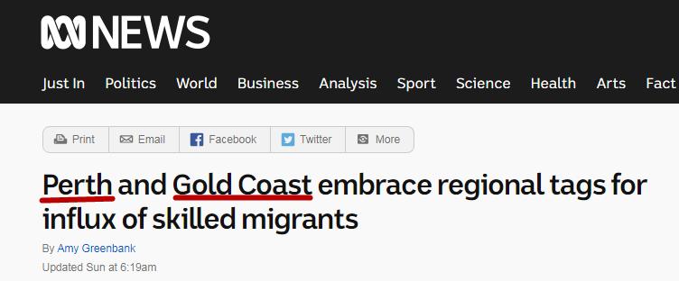 【重磅】澳洲偏远地区名单突然更新,200多万人口的城市都能上榜?!