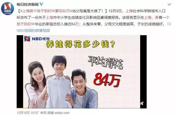 北京上海养小孩到大学要花100万?来了解一下英国中产家庭的小孩成长花销吧~