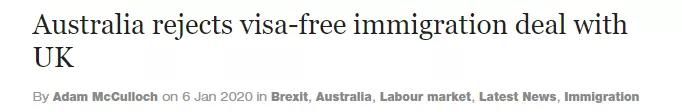 英澳护照即将自由互通,跨国定居和工作说走就走?话是没错,但我们还得再等等…