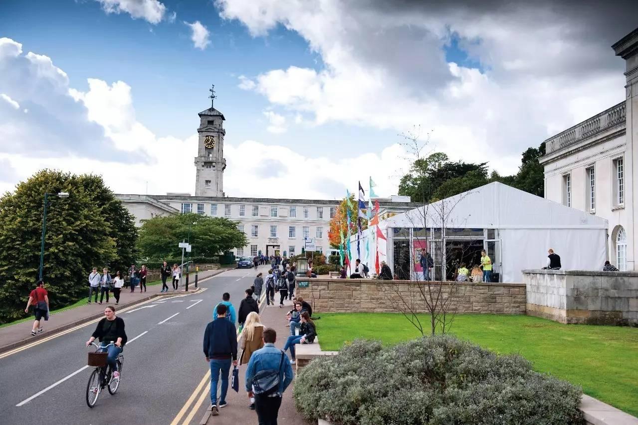 英国诺丁汉大学本科学费多少人民币?