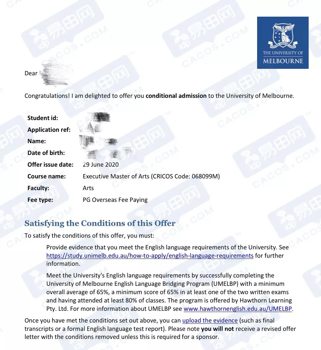 双非跨专业申请到澳洲专业第一的院校!到底是运气好还是
